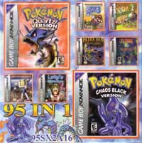 POKEMON QUARTZ CHAOS BLACK